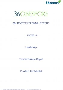 360 degree feedback sample